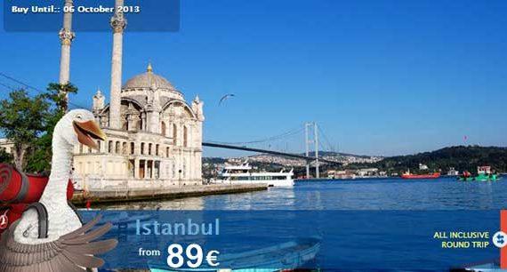 Turkish Airlines: u0398u03b5u03c3u03c3u03b1u03bbu03bfu03bdu03afu03bau03b7 - u039au03c9u03bdu03c3u03c4u03b1u03bdu03c4u03b9u03bdu03bfu03cdu03c0u03bfu03bbu03b7 u03b1u03c0u03cc 89u20ac u03bcu03b5 u0395u03a0u0399u03a3u03a4u03a1u039fu03a6u0397!